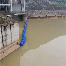 警示拦污两用式浮筒拦垃圾浮筒