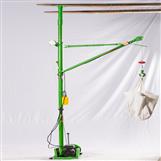 室内简易吊机-快速楼房吊沙机价格-东弘起重