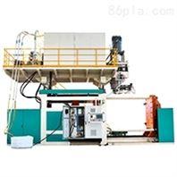 岩康全自动塑料挤出中空成型机设备生产厂家