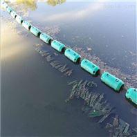 汛期攔截垃圾夾網攔污漂