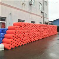 FT60*100*3核电厂取水明渠拦污网浮漂聚乙烯浮筒安装