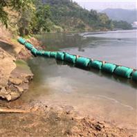 水上漂浮垃圾拦截浮筒方案