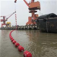 湖泊拦污警示塑料浮球规格