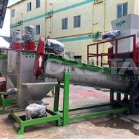 PP编织袋清洗回收造粒生产线