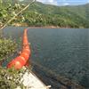 FT50*100*3上游漂浮物拦截浮桶水电站浮筒式拦污排