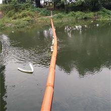 夹网式拦污浮筒两片式便捷浮筒